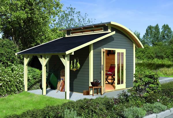 Wir führen Gartenhäuser von Palmako und Karibu  Holz Kröger › Holz